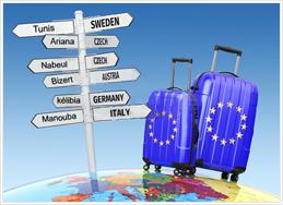 Déménagement Tunisie-europe